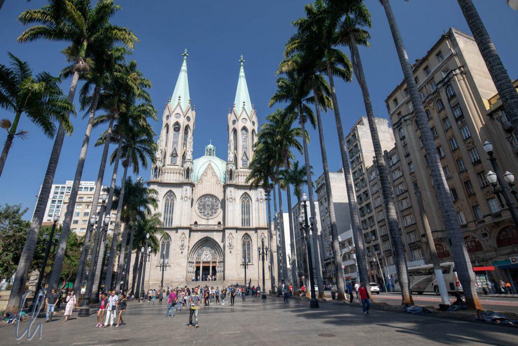 Die Catedral da Sé in São Paulo