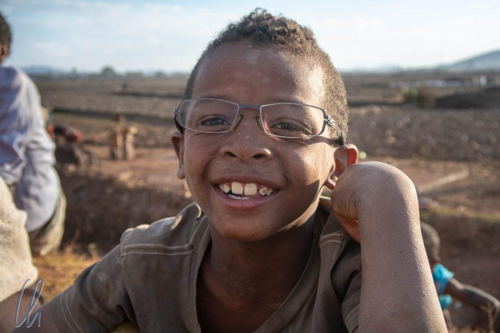 Bester Durchblick dank Vazahas-Brille!