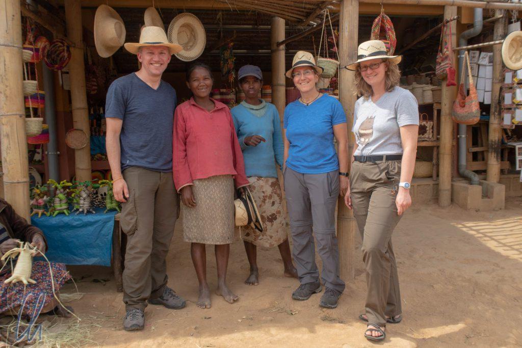 In Madagaskar reisten wir zu dritt: Katja hatte Urlaub bei Wittmann-Tours gebucht.