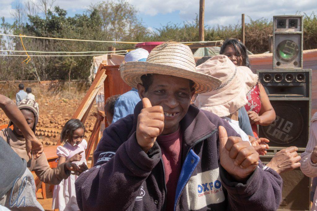 Beste Stimmung auf einer madegassischen Hochzeit