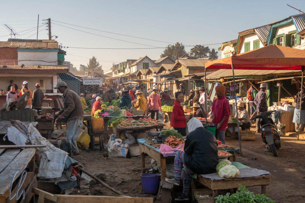 Auf dem Markt in Betafo