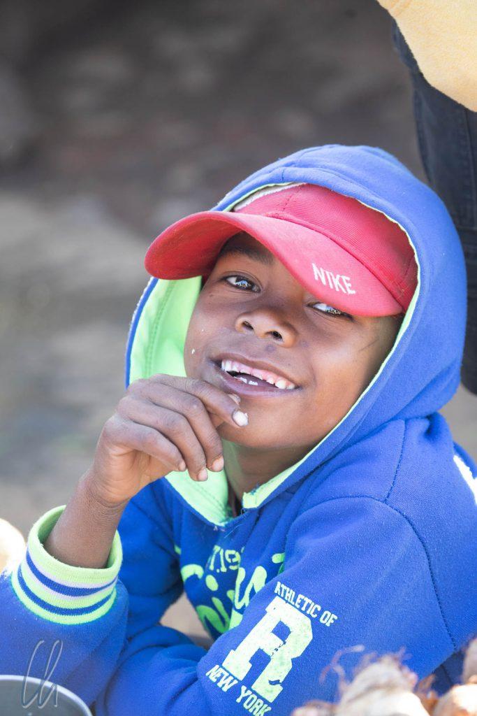 Viele Kinder wollten gerne fotografiert werden