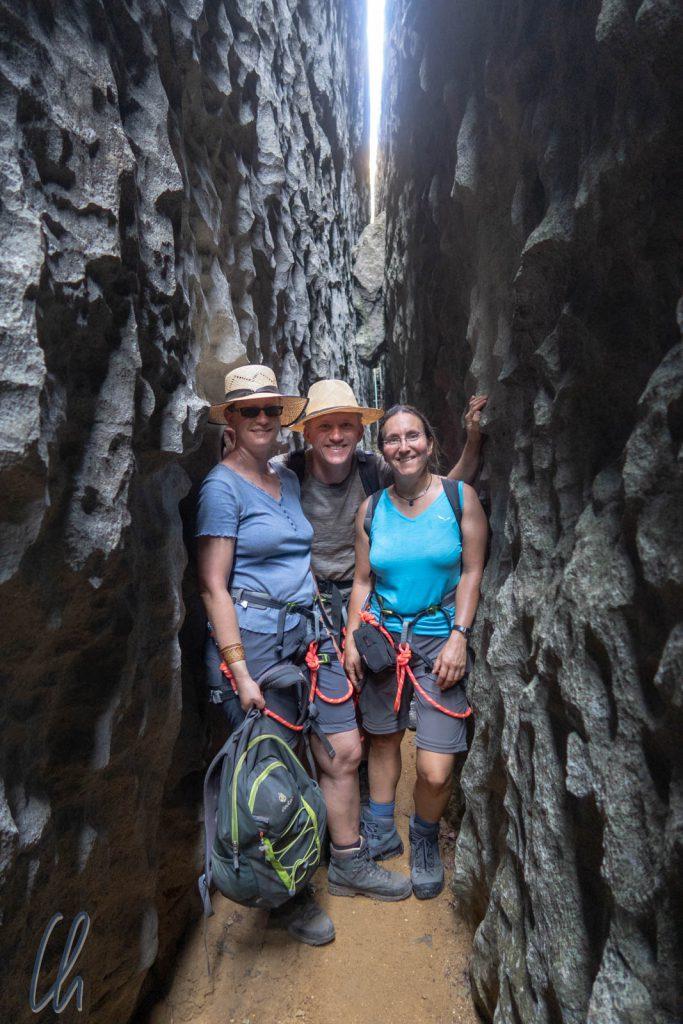Im Tsingy-Canyon