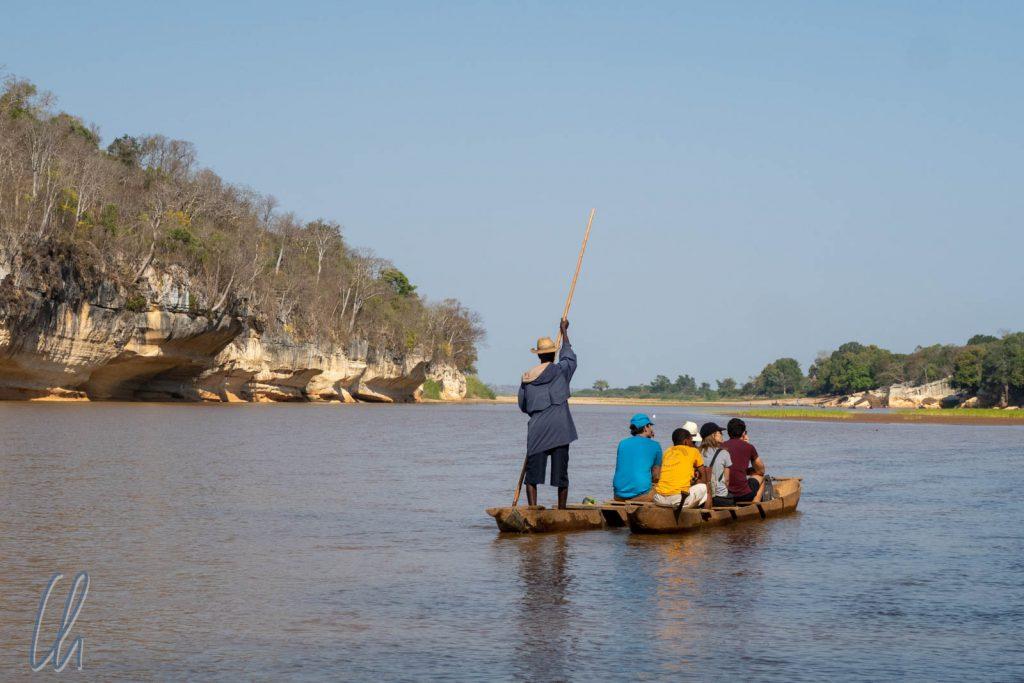 Bootsfahrt auf dem Manambolo