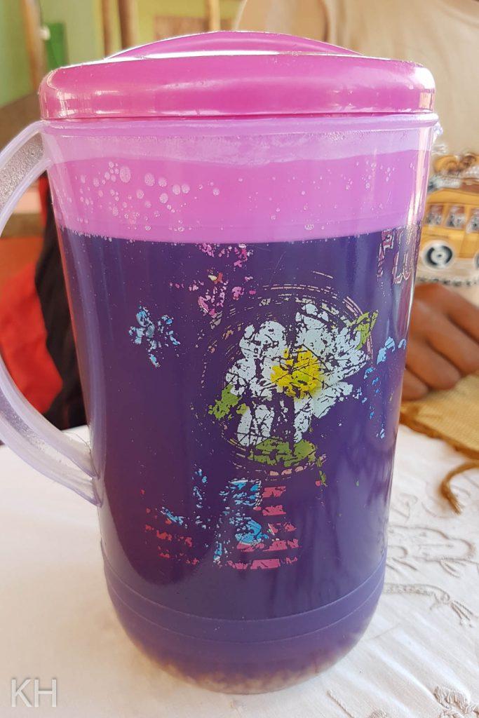 Der Reiswasser-Container
