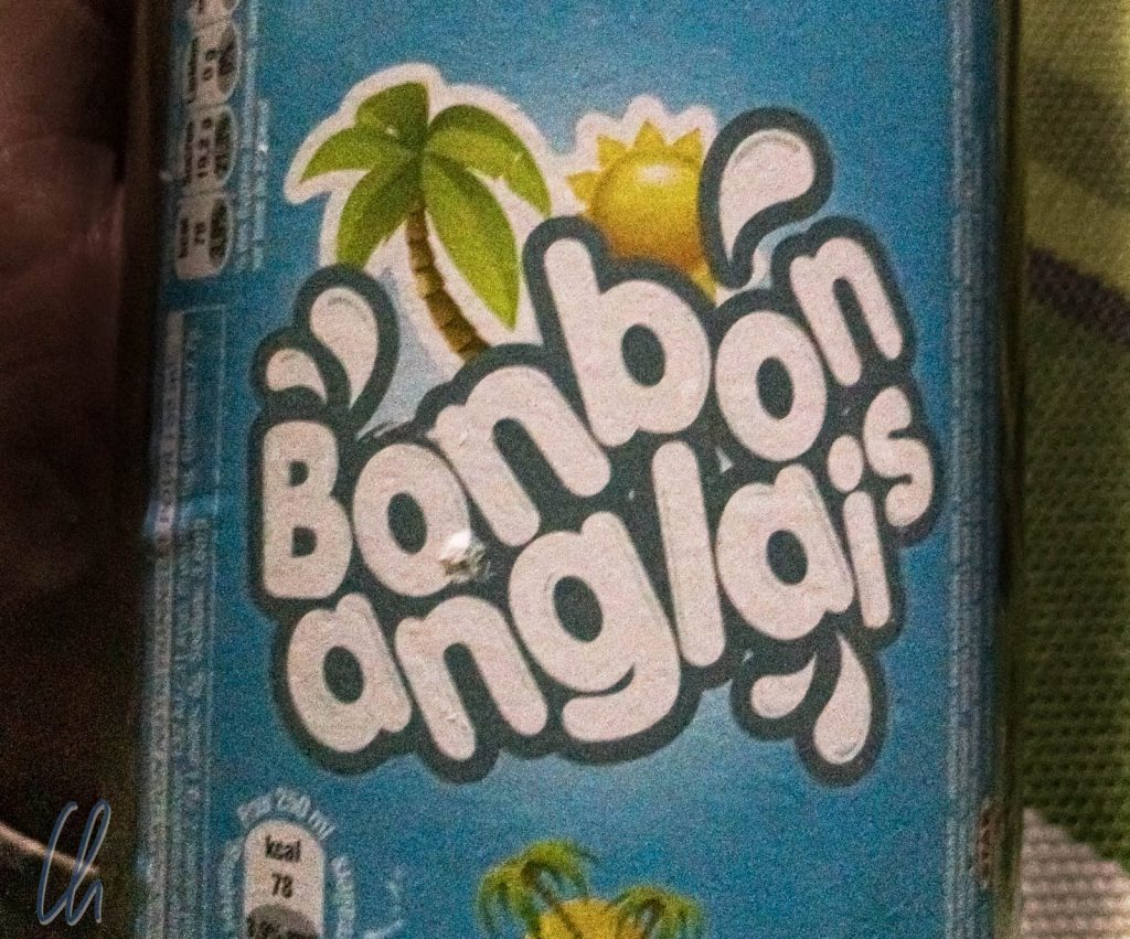 Bonbon Anglais schmeckt lustigerweise wie Eisbonbons.
