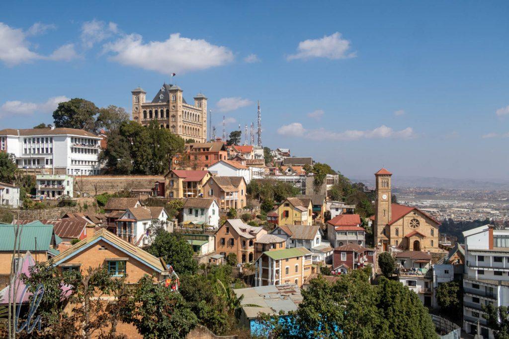 Der Rova thront auf dem höchsten Punkt von Antananarivo