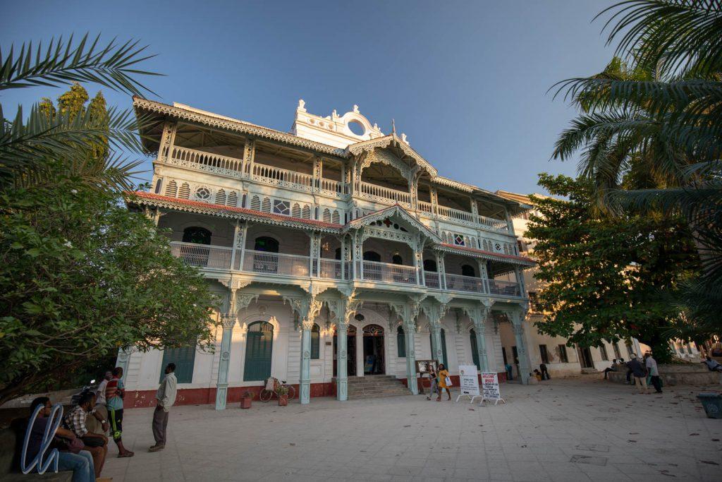 The Old Dispensary, eines von Sansibars prächtigsten Gebäuden.