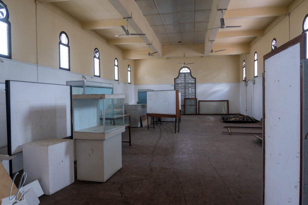 Die traurige Biologie-Ausstellung im Nationalmuseum von Dar es Salaam