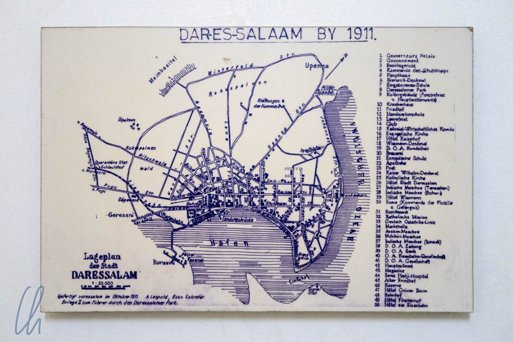 Dar es Salaam ano 1911