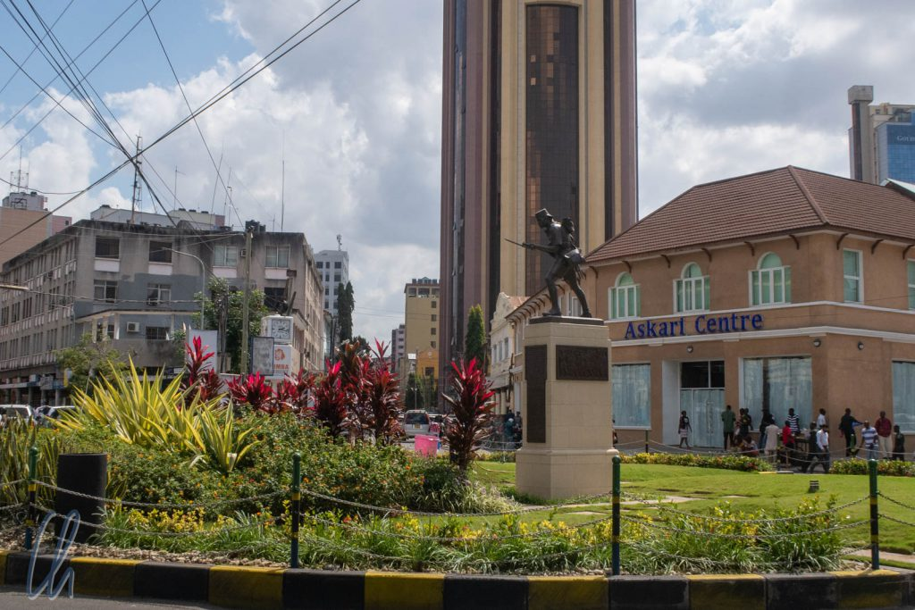 Das Askari-Denkmal von Dar es Salaam