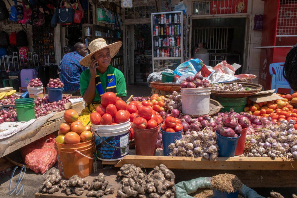 Straßenmarkt in Iringa