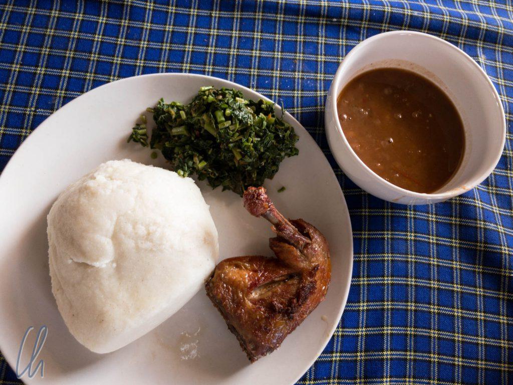 Exklusiv-Ugali am Flughafen von Dar es Salaam