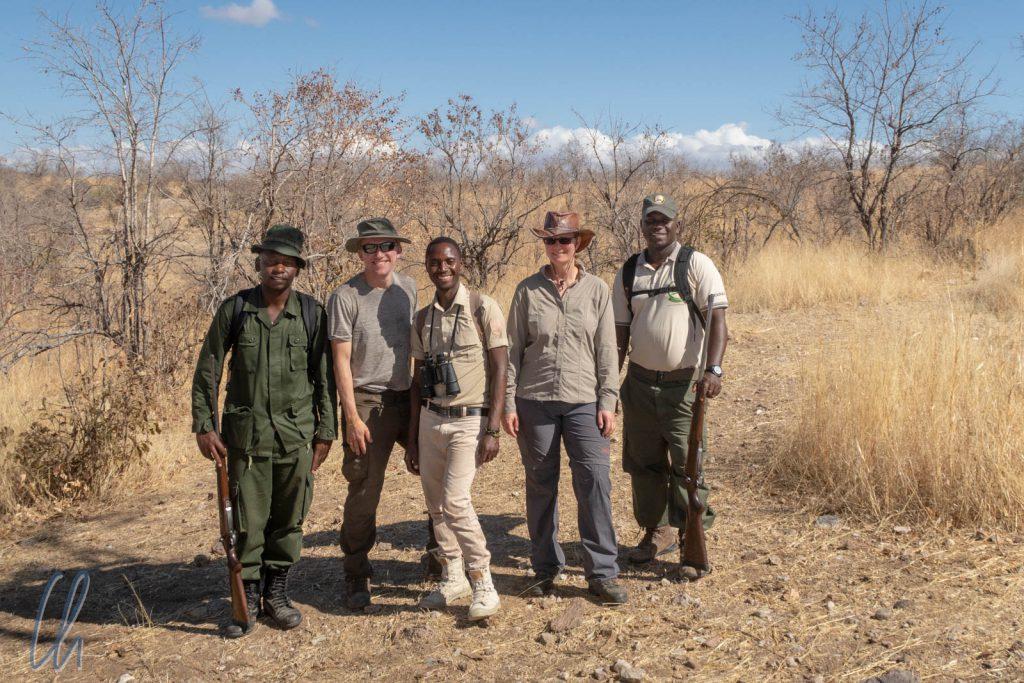 Zu Fuß auf Safari im Ruaha Nationalpark