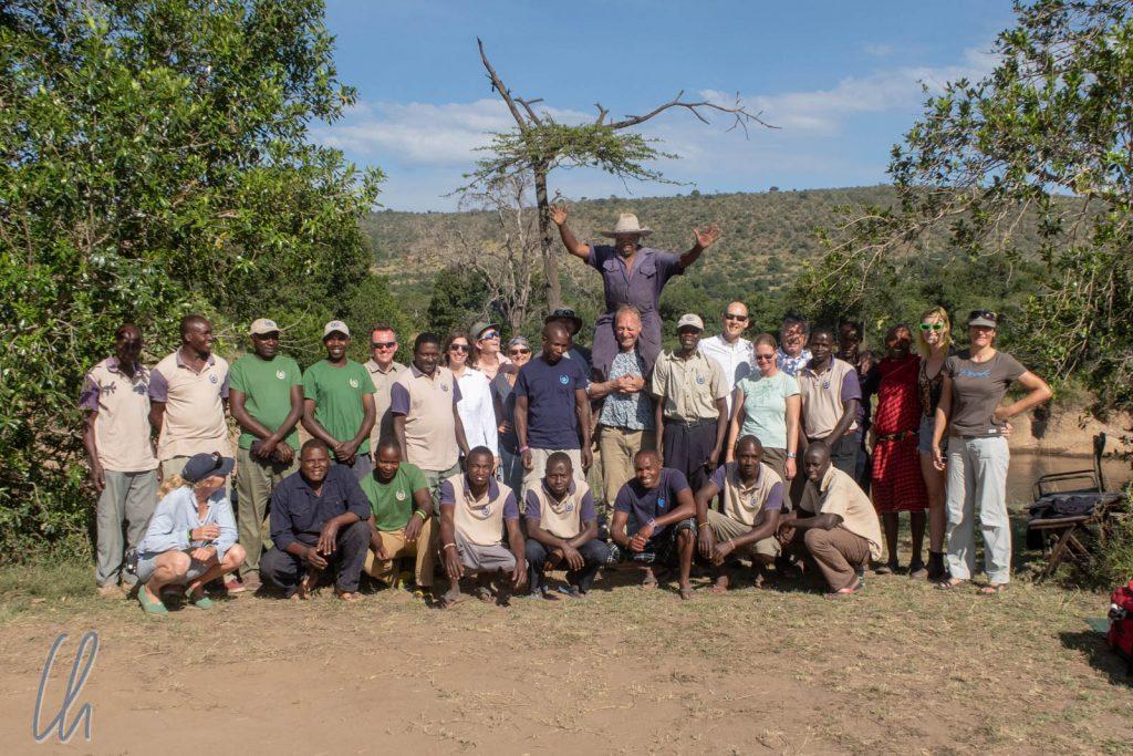 Vielen Dank an die ganze Crew, die diese Reitsafari möglich gemacht hat!