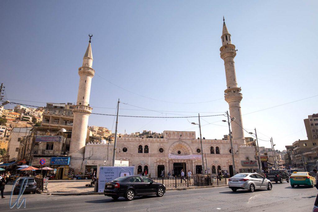 Die al-Husseini-Moschee im Zentrum von Amman