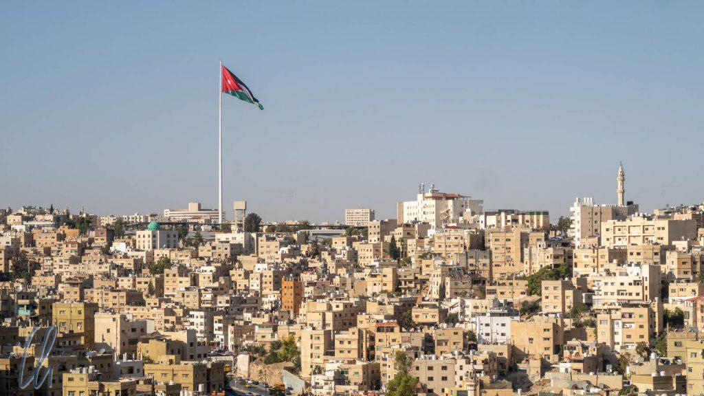Blick über Amman vom Zitadellenhügel aus