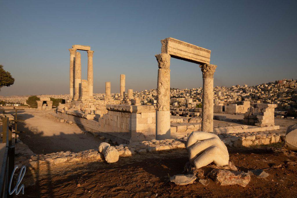 Der Herkulestempel auf dem Zitadellenhügel von Amman