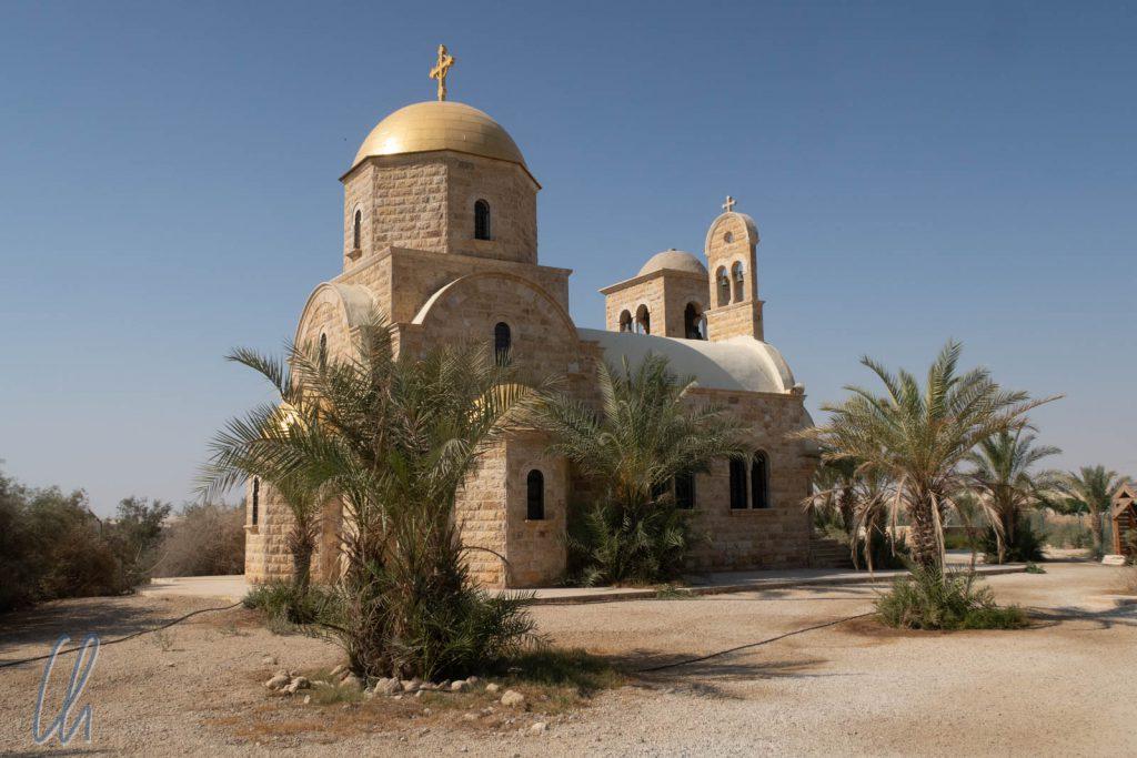 Die griechisch-orthodoxe Johannes-Kirche an der Taufstätte Jesu