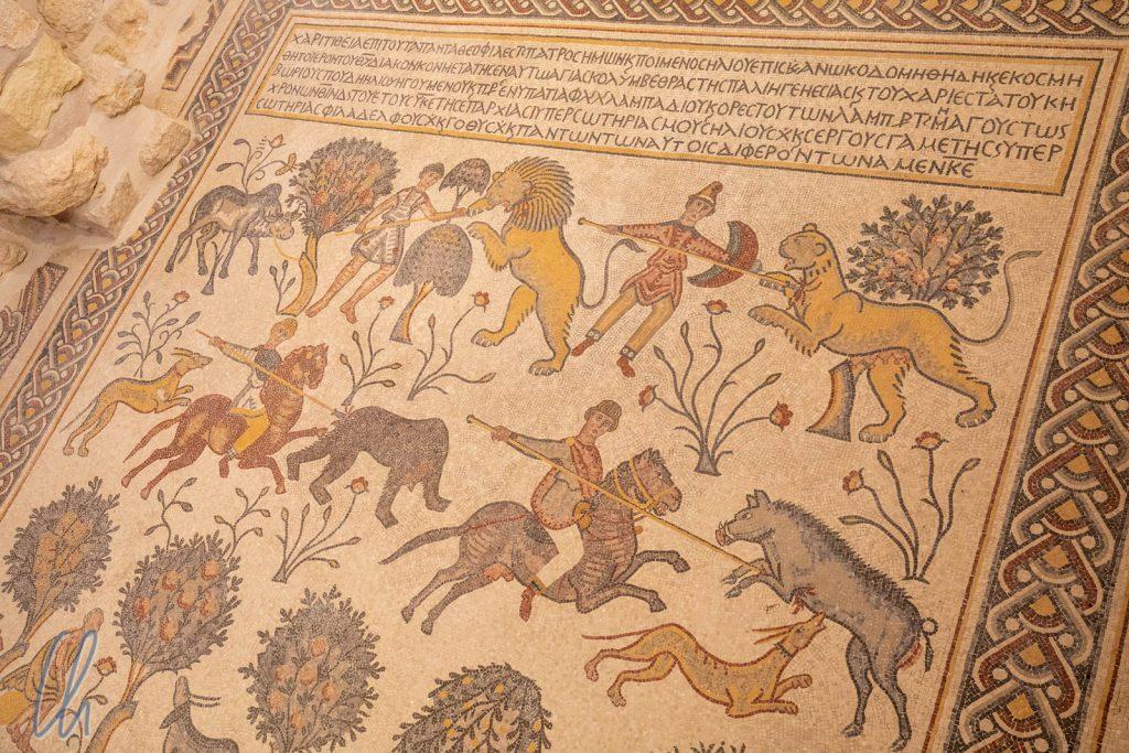 Byzantinische Mosaike in der Moses-Gedächtniskirche