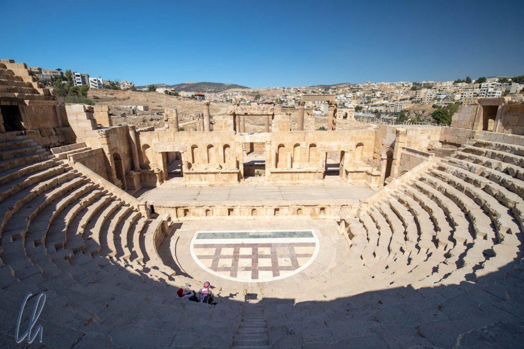 Das nördliche Amphitheater