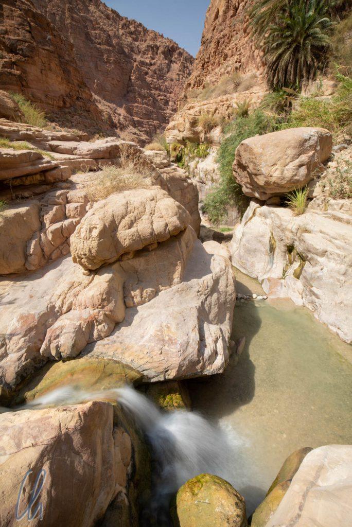 Das Wasser bahnte sich immer seinen Weg durch die spektakuläre Landschaft.