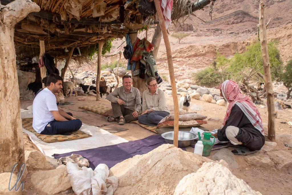 Interessante Einblicke in das Leben der Beduinen