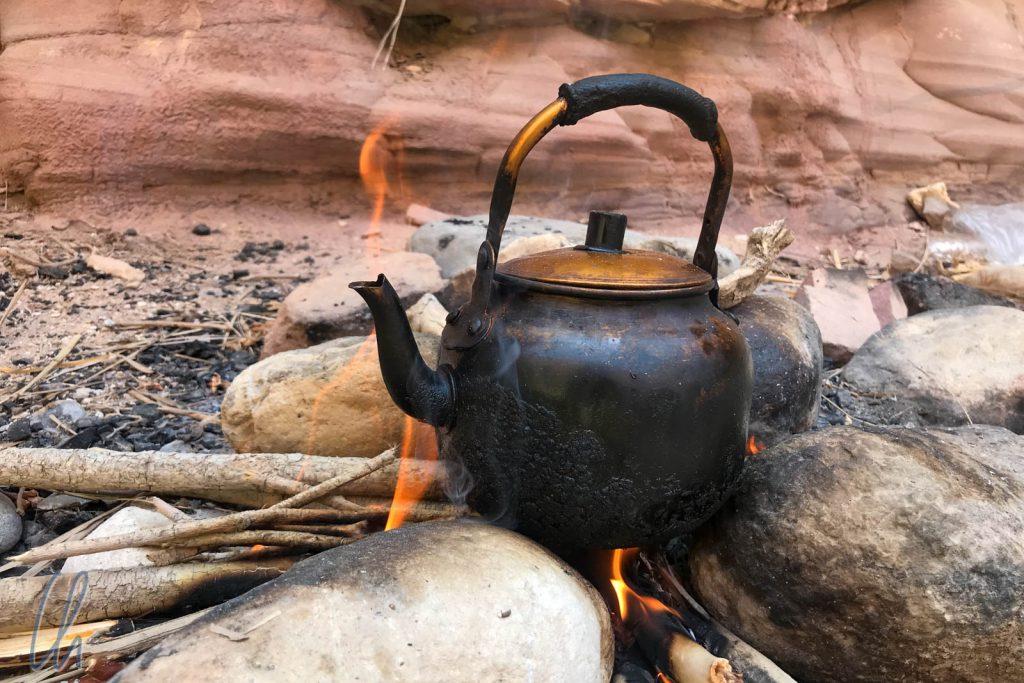 Ein Beduinen-Tee zur Revitalisierung