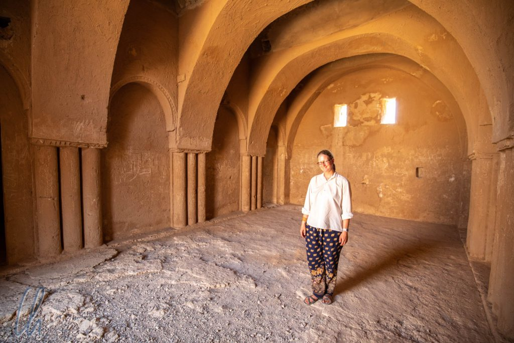 Ein elegantes Gästezimmer im Qasr Kharana