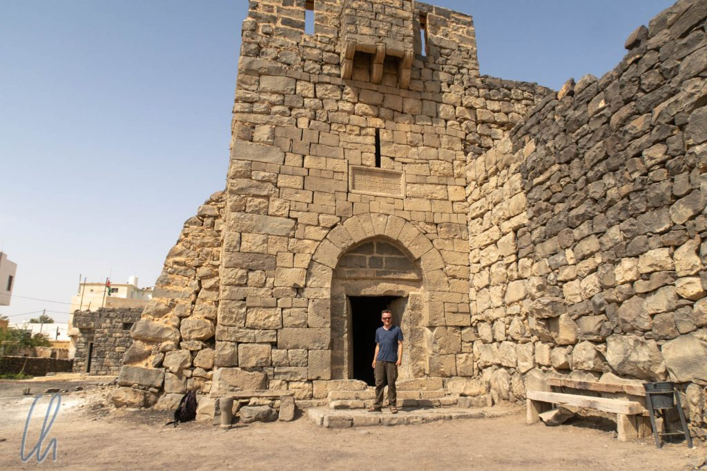 Der Eingang der Festung von Azraq