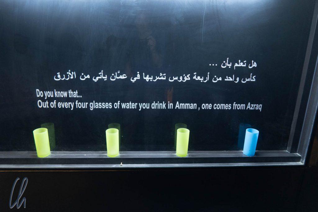 Amman bezieht ein Viertel seines Wassers aus Azraq.