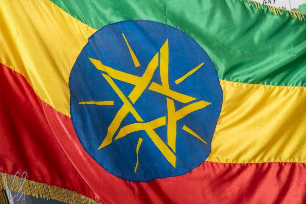 Die äthiopische Flagge