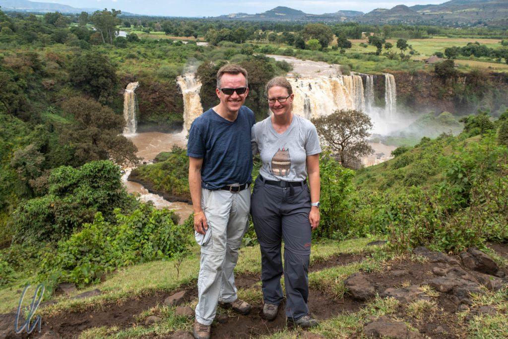 Die Tisissat-Wasserfälle, die Wasserfälle des Blauen Nil