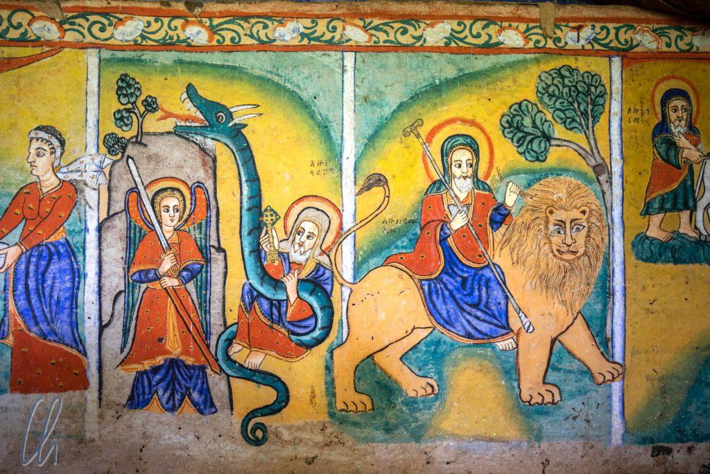 Wer reitet auf dem Löwen? Samuel von Waldebba