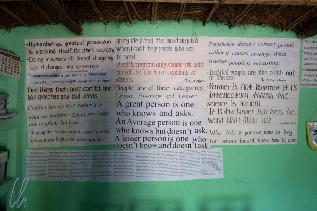 Einige Grundgedanken der Gemeinschaft von Awra Amba