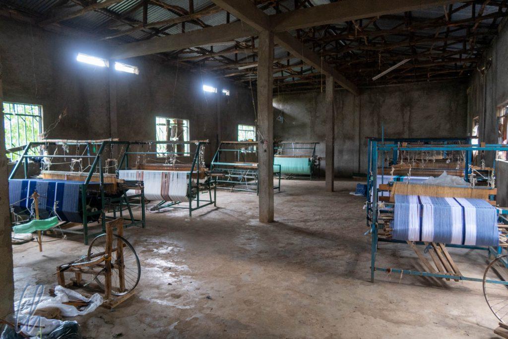 Die Weberhalle in Awra Amba