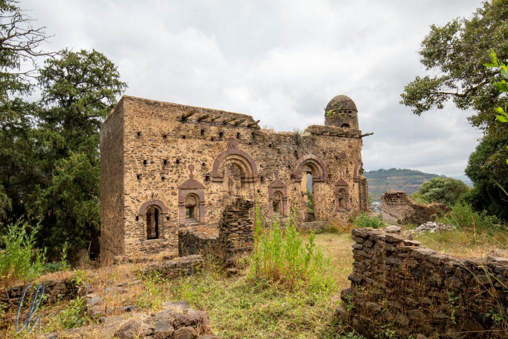 Der Palast der Kaiserin Mentewab in Kusquam