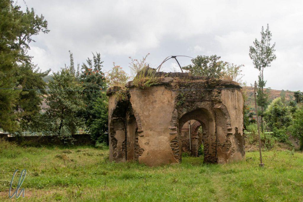 Das angebliche Grab von Yohannes legendärem Pferd Suviel