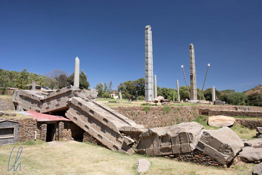 Der Stelenpark von Aksum: Eindrucksvolles Zeugnis der Macht des aksumitischen Reiches