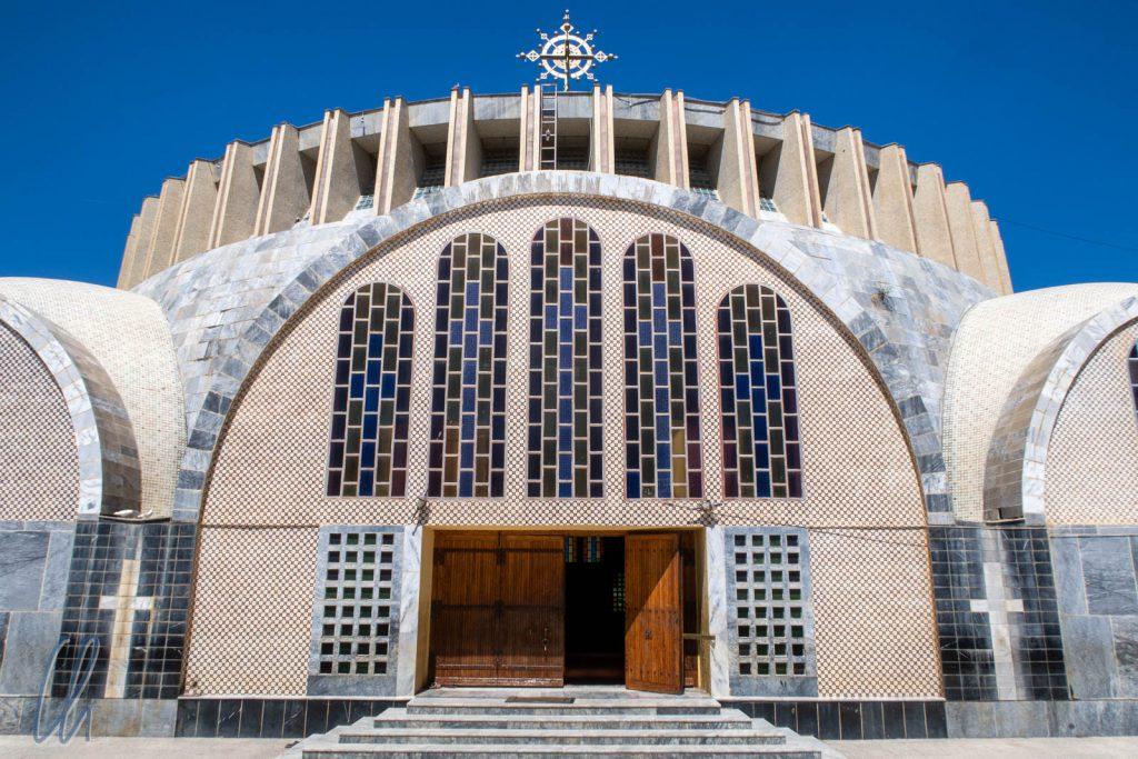 Der Neubau der Kirche der Heiligen Maria von Zion in Aksum