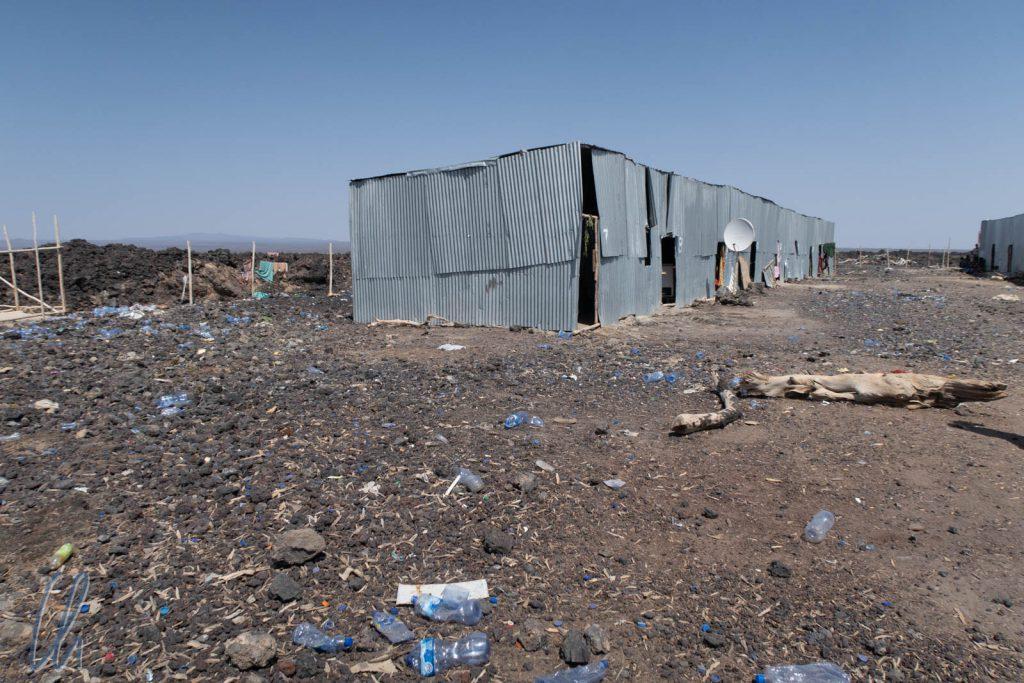 Desolate Zustände im Lager der Straßenbauarbeiter