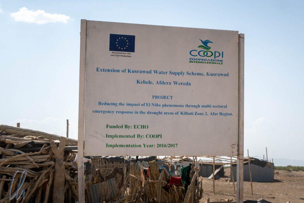 In Kusrawad halfen die EU und Coopi den Afar.