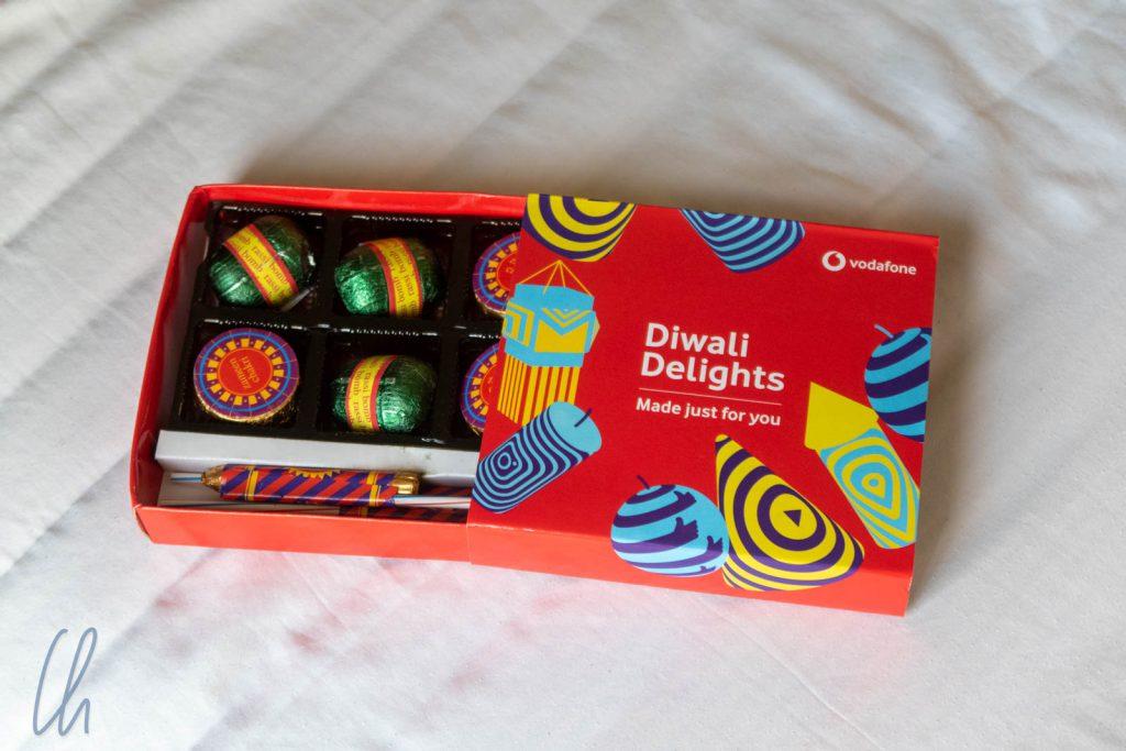 Eine schmackhafte Aufmerksamkeit von Vodafone zu Diwali