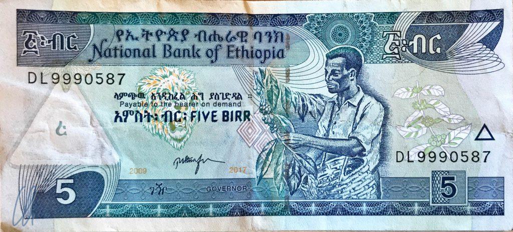 5 äthiopische Birr (0,14 Euro): Die äthiopische Kaffee-Ernte