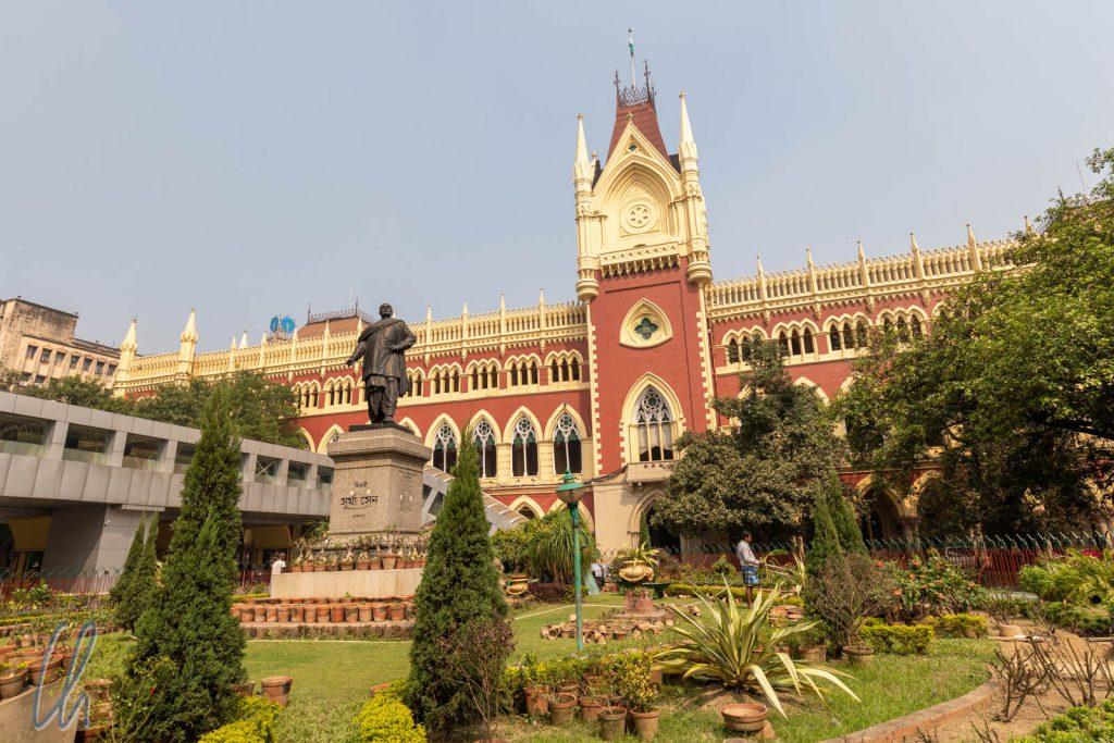 Das High Court-Gebäude wurde einst für die Stadt Calcutta gebaut, jetzt steht es in Kolkata.