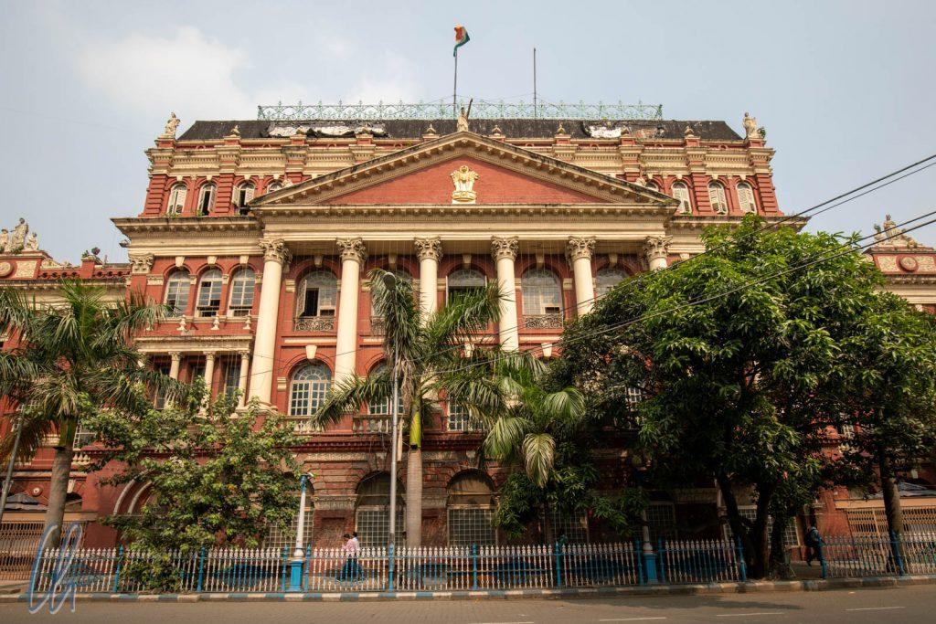 Das Writer's-Building diente ursprünglich den Angestellten der Ost-Indien-Kompanie als Bürogebäude.
