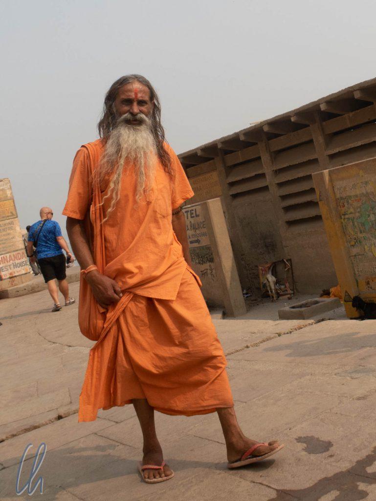 Ein Sadhu, hinduistischer Bettelmönch