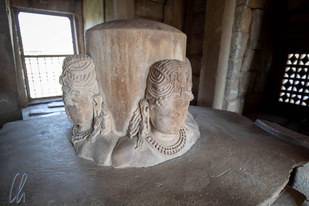"Das Shiva Lingam im ""Brahma Tempel"""