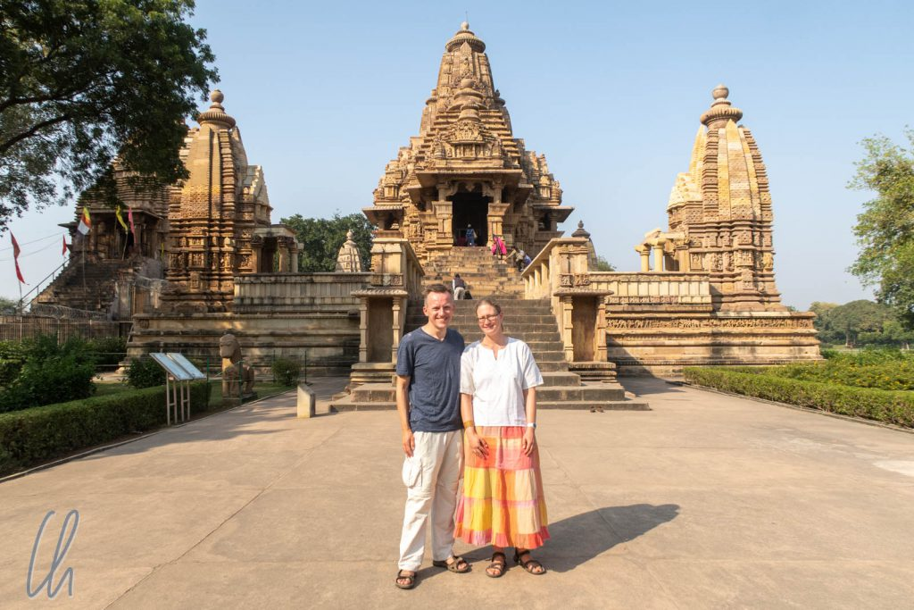 Der Lakshmana-Tempel in Khajuraho