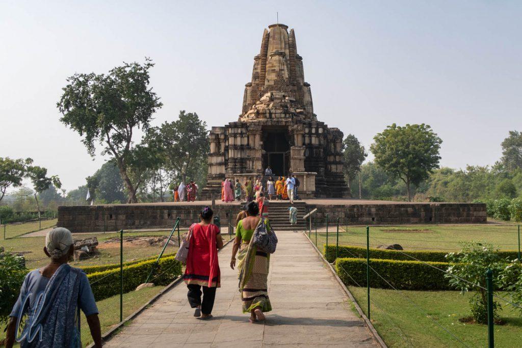 Der Duladeo Shiva Tempel